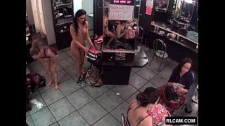 Behind the scenes at a strip club