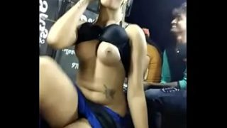 Open Recording Dance by big boobs girl