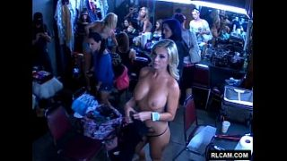 Strippers doing hair and makeup