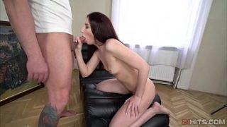 Violetta Zack riding cock with her asshole